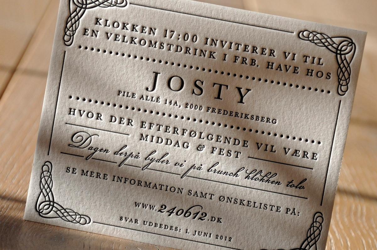 Id 5426 zoom - letterpress by letterart
