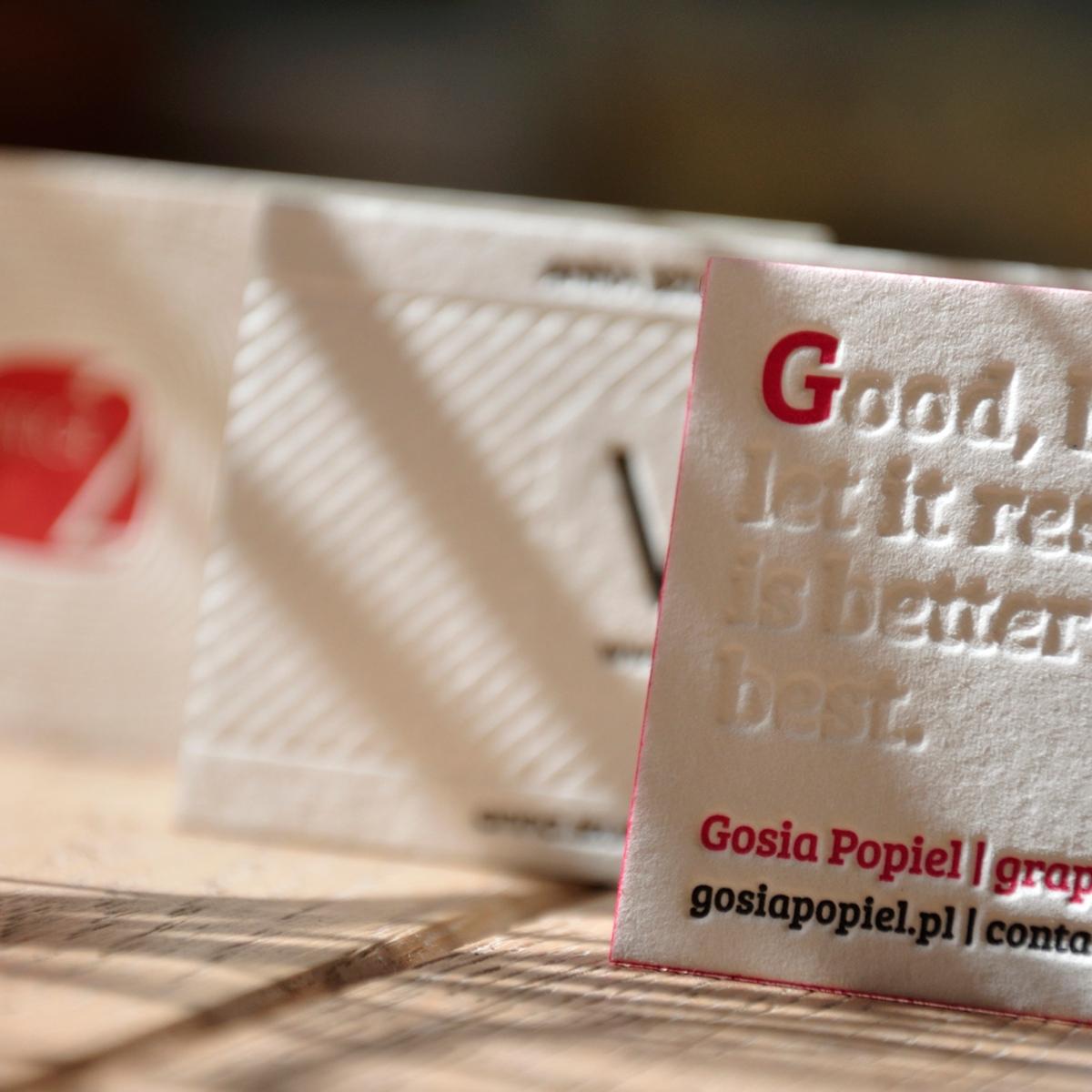 Tag Visitenkarten Drucken Letterpress By Letterart