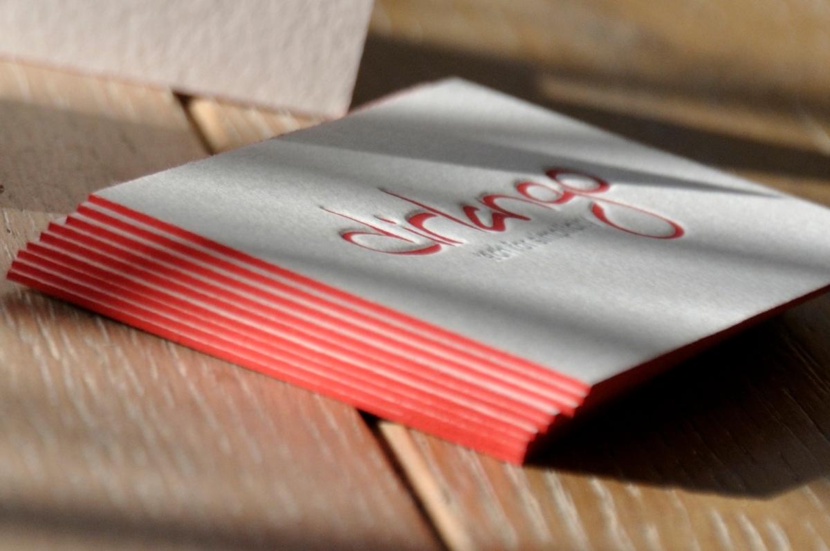 Id 5392 - letterpress by letterart