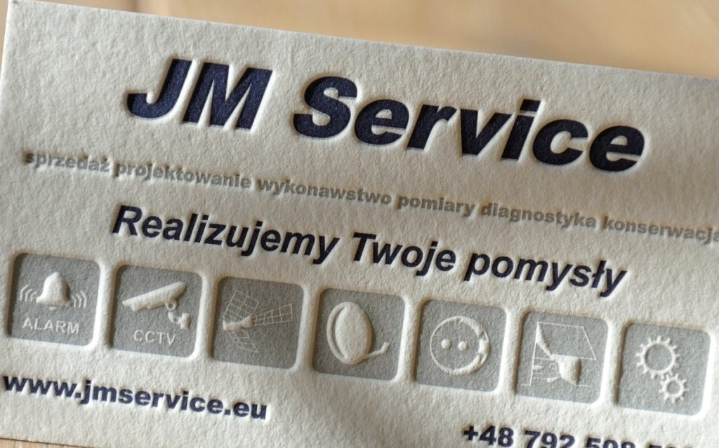Wizytowka JM Service
