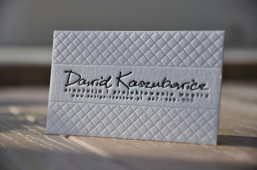 Tag Letterpress Visitenkarten Letterpress