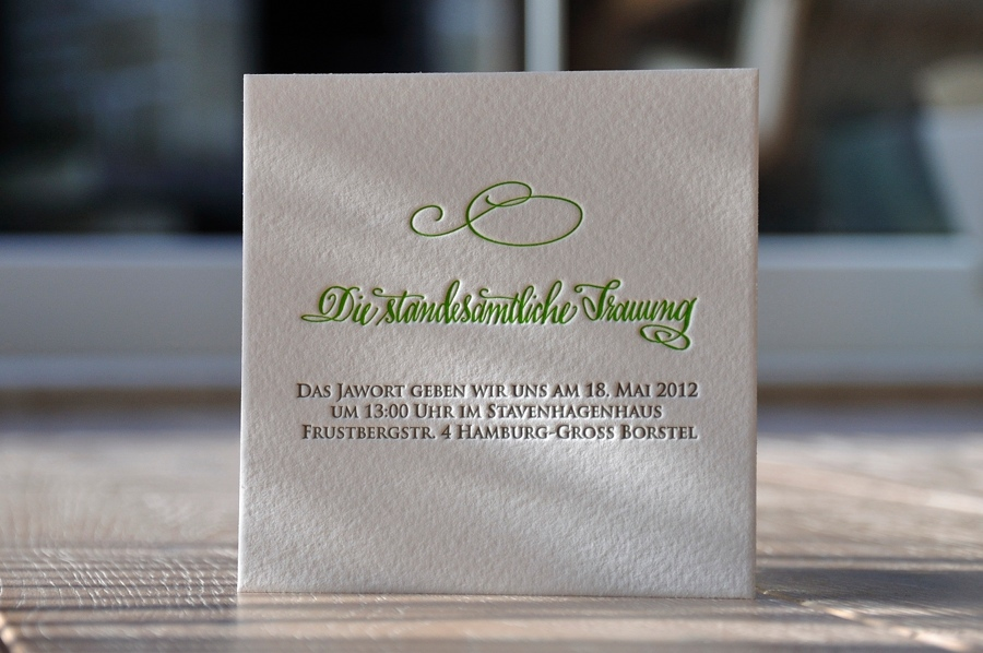 Tag Zaproszenia ślubne Letterpress